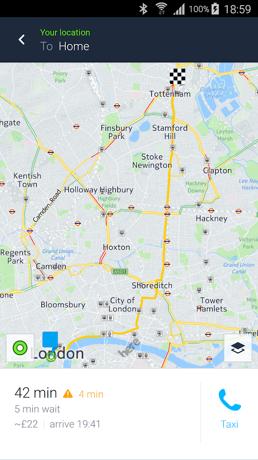 HERE WeGo - City Navigation- screenshot