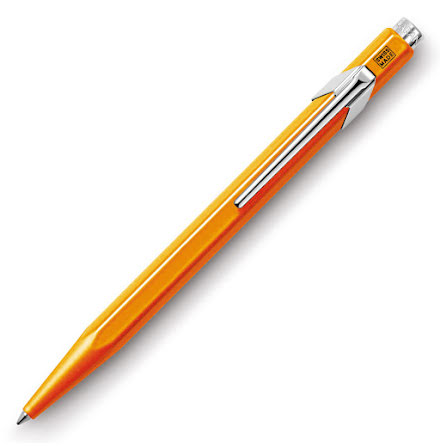 Caran d'Ache 849 Orange Fluo Kulspets