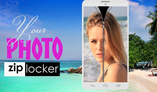 Your Photo Zipper Lock Screen