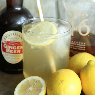 Lemon Ginger Bourbon Fizz Recipe