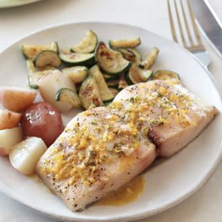 Roasted Mahimahi with Citrus Vinaigrette