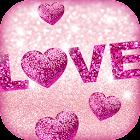 Sfondo di Amore di Scintillio icon