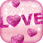 Glitter Love Wallpaper Icon