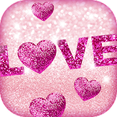 Glitter Love Wallpaper
