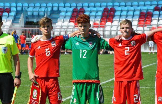 Max in Wales Victory Shield squad