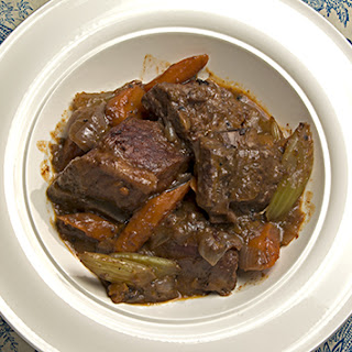 Braised Costillos de Puerco, French Style