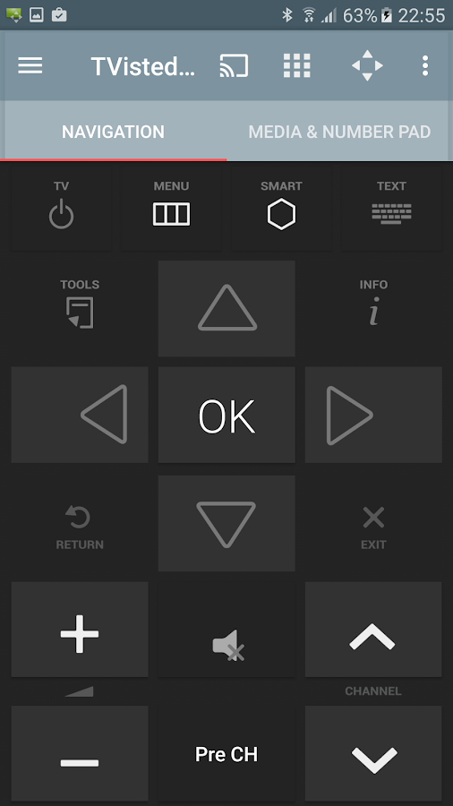 Smart Remote for Samsung TVs (Unreleased)- screenshot