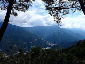 展望所からの景色(奥は井戸口山)