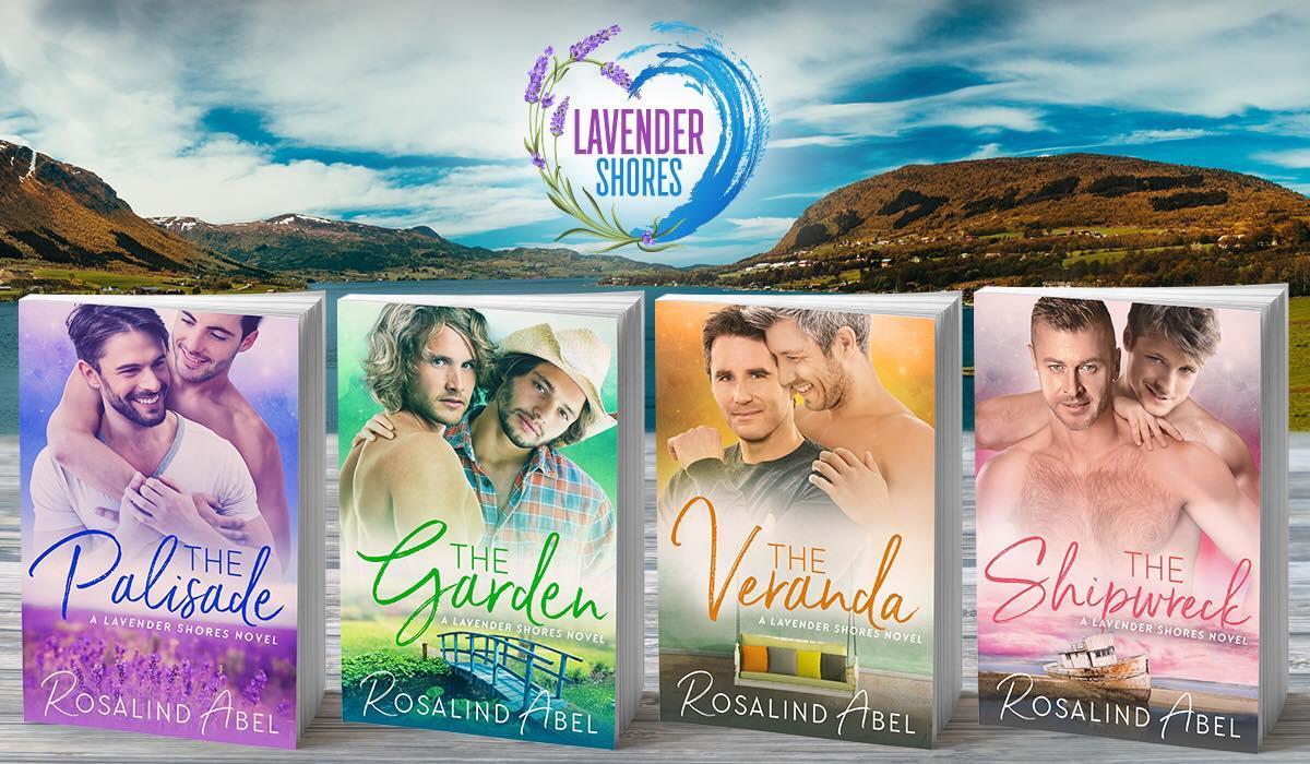lavender shores banner 4 books