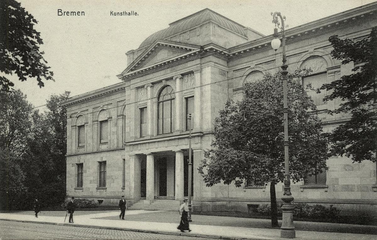Postcard Of The Kunsthalle Bremen Google Arts Culture