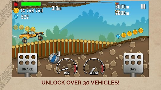 Hill Climb Racing APK MOD (Diamonds / Infinite Money)  v1.46.6 2