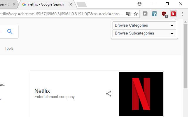 Netflix - Category Browser
