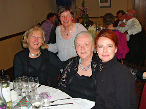 Photo: Josephine O'Connell, Ronnie Shorten, Bríd Brady and Joan Griffith all looking really well.