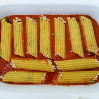 Crock-Pot Stuffed Manicotti