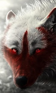 Wolf live wallpaper (fantasy, hunter, animals) - náhled