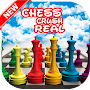Chess Crush Match 3 Real Cities 😍 APK icon