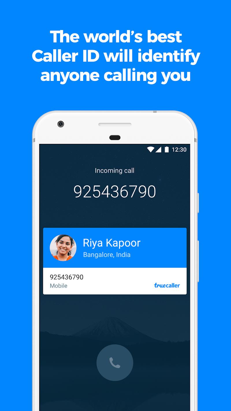 Truecaller: Caller ID, spam blocking & call record Screenshot 0