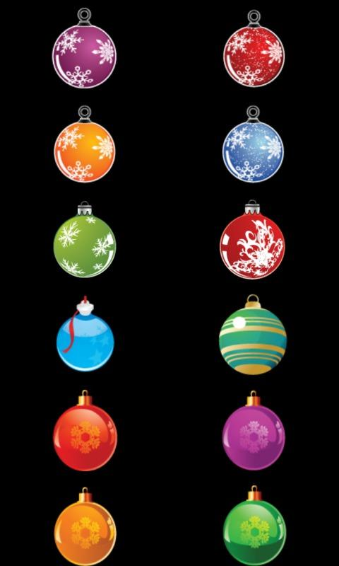 Christmas tree decoration- screenshot