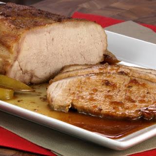 Baked Pork Tenderloin.