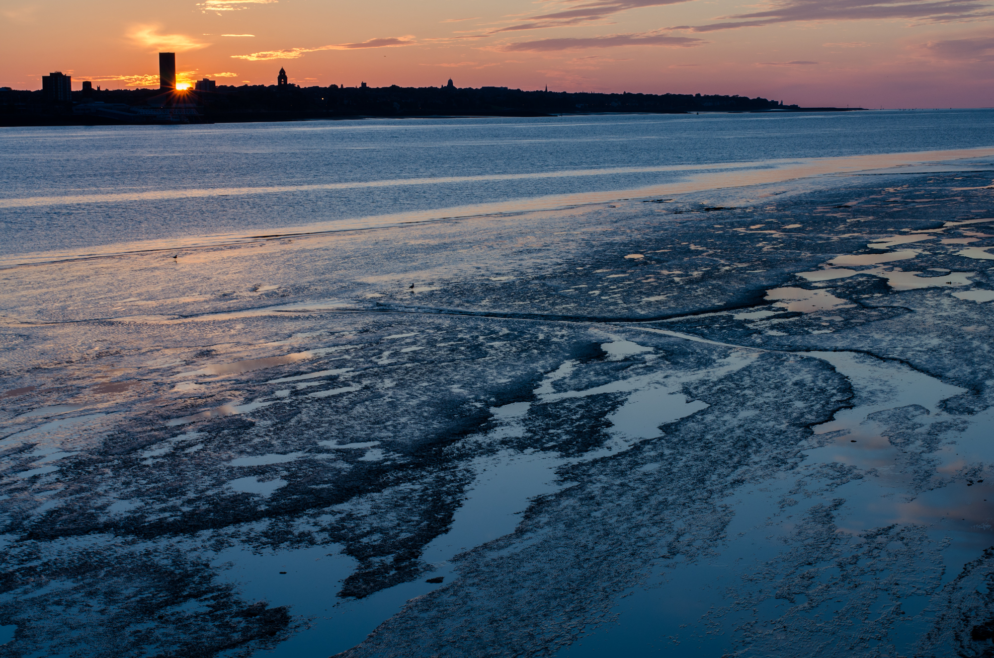 Photo: Low tide at Mersey