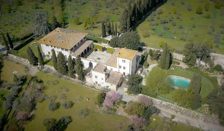 Villa avec piscine Impruneta
