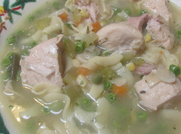 Lady Rose's Chicken Noodle Soup Recipe
