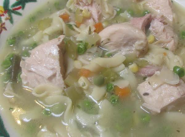 Lady Rose's Chicken Noodle Soup Recipe