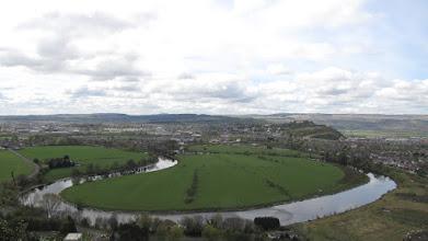 Photo: Stirling vu du Wallace Monument