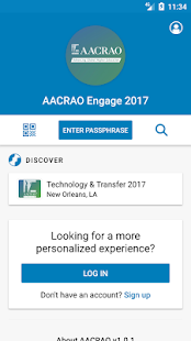 AACRAO Engage 2017- screenshot thumbnail