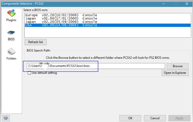 Pcsx2-Giả lập PS2 trên máy tính-Thiết lập cấu hình Pcsx2 – TIN HỌC EASY