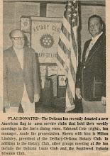 Photo: President Milt Lindsley, and Ed Cote