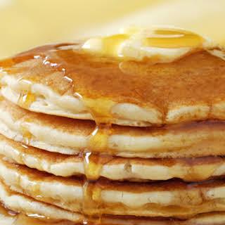 Basic Buttermilk Pancakes.