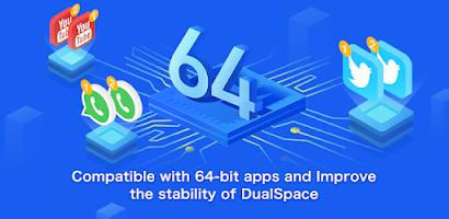 Multi Space 64Bit Helper - Dual Space Blue Plugin - Free