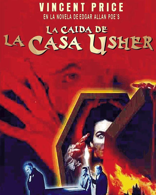 La caida de la casa Usher (1960, Roger Corman)