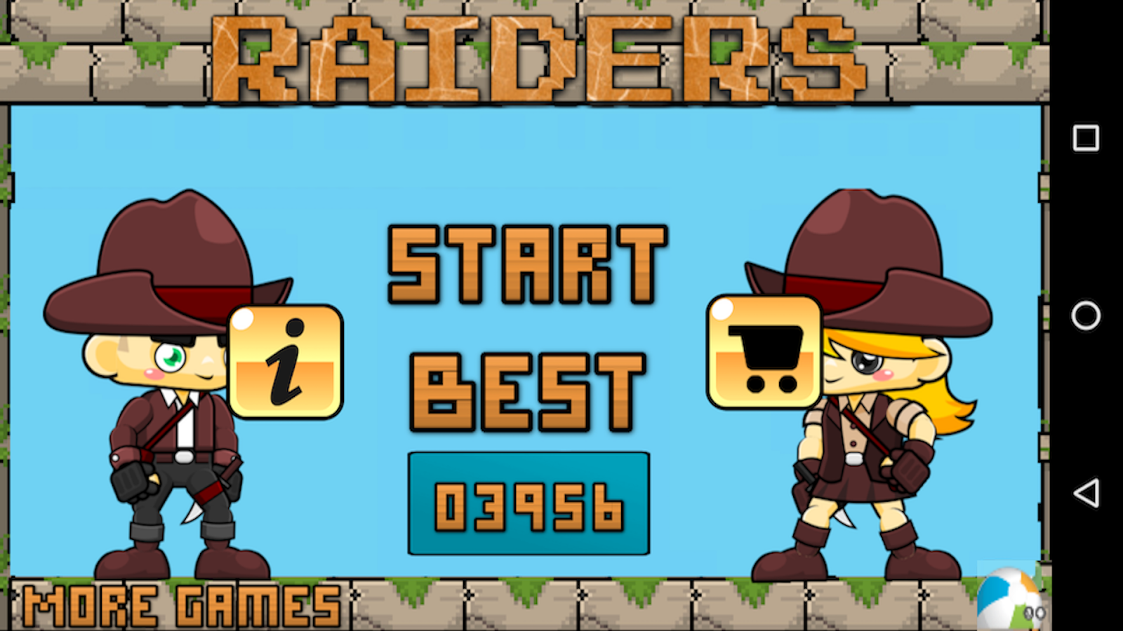 Raiders- screenshot