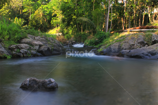 Sungai Mencerit Waterscapes Landscapes Pixoto