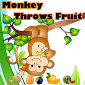 Monkey Throws Fruit