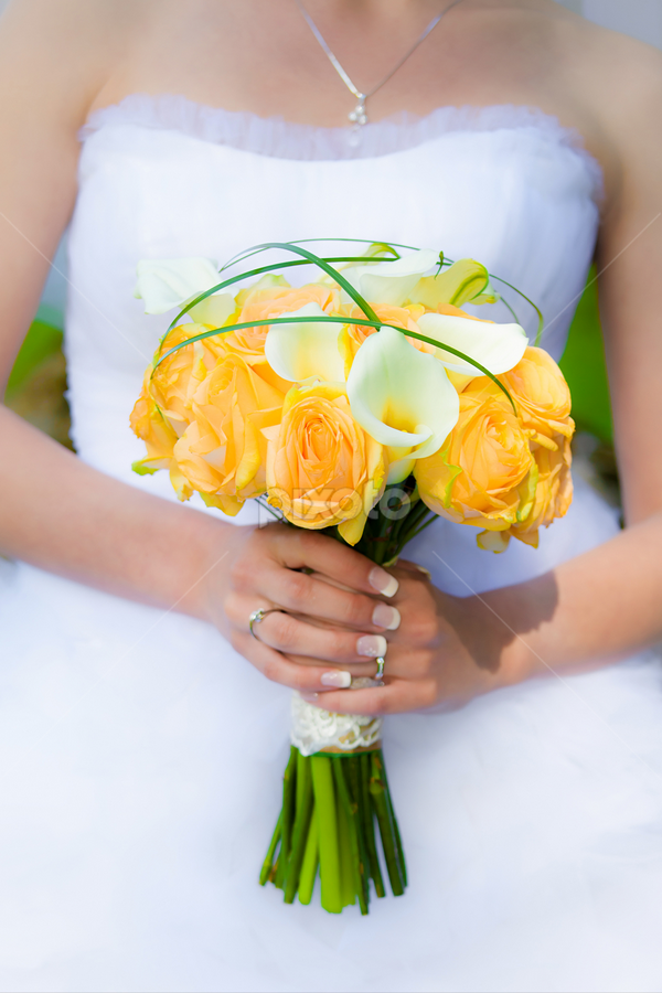 Bride holding a wedding bouquet  by Cornel Achirei - Wedding Bride ( bouquet, person, lovers, holding, valentine, husband, people, romance, together, caucasian, love, hand, happy, woman, affectionate, couple, dating, men, bride, flowers, passion, marry, ring, girlfriend, male, white, romantic, togetherness, happiness, finger, adult, ceremony, marriage, young, human, relationship, two, boyfriend, unity, female, dress, wife, wedding, touching, outdoors, background, roses, matrimony, groom, engagement )