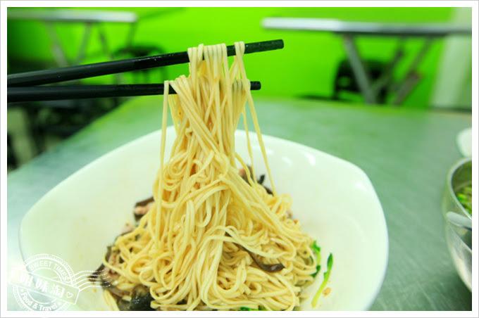 徐記雙方乾麵-鮮菇木須肉乾麵