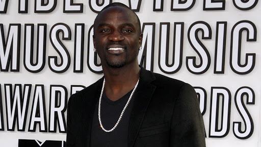Musician and producer Akon.