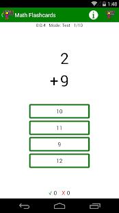 Math Flashcards! - náhled