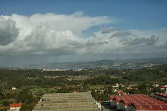 Photo: Vista xeral de Bergondo dende o edificio Brico King (antes da Utande), lugar de Espíritu Santo, parroquia de Lubre (2013)