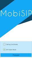 Screenshot of MobiSIP Dialer