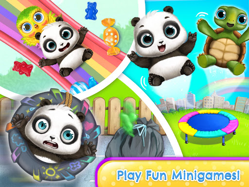 Panda Lu & Friends - Playground Fun with Baby Pets apkmr screenshots 16
