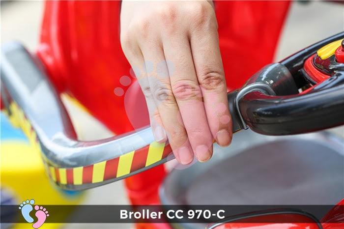 Xe chòi chân Broller CC YH-970C có mái che 8