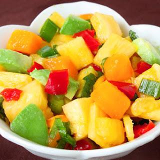 Pineapple, Mango & Avocado Salsa