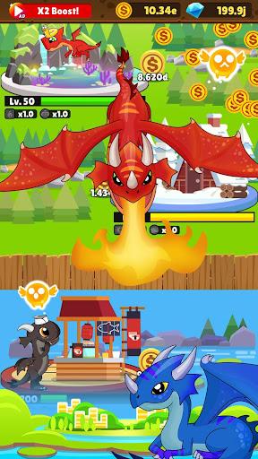 IDLE DRAGON WORLD:FUN GAME 1.0.1 screenshots 2