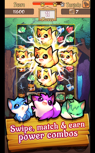 Download Fox Pop - Match 3 Puzzle Game on PC & Mac with AppKiwi APK