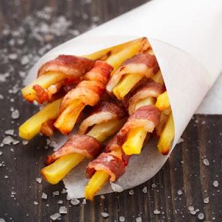 Bacon-Wrapped Sweet Potato Fries