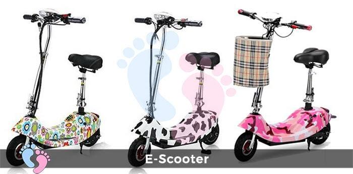 Xe điện E-Scooter mini gấp gọn 3
